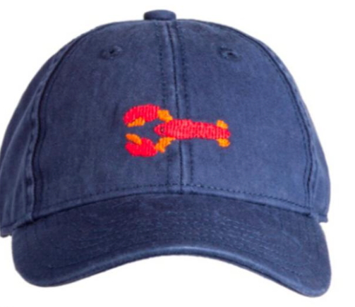 Needlepoint Hat - Crawfish