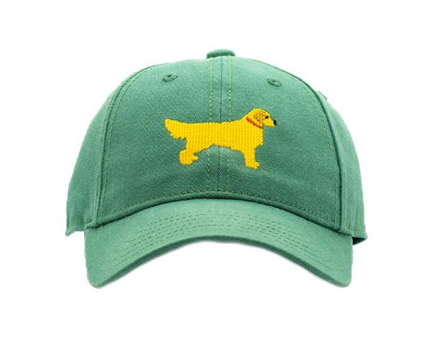 Needlepoint Hat - Golden Retriever
