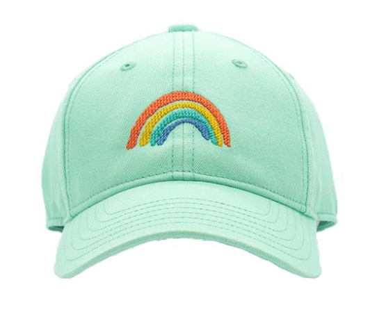 Needlepoint Hat - Rainbow