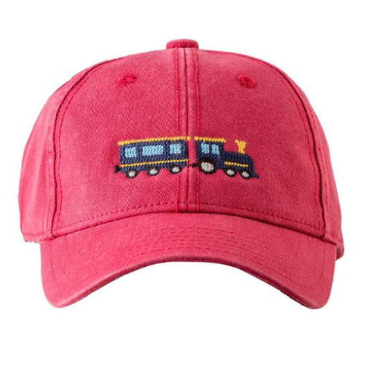 Needlepoint Hat - Train