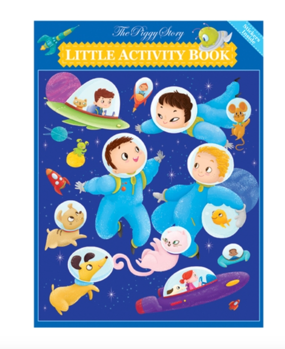 Space Adventure Little Activity Book