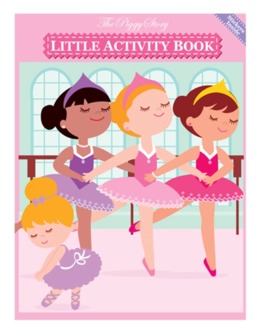 Ballerina Little Activity Book