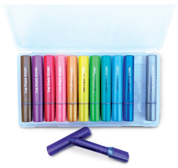 Space Adventure Glitter Doodle Gel Crayons