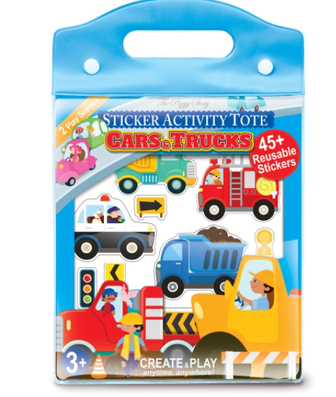 Trucks & Cars Sticker Activity Book