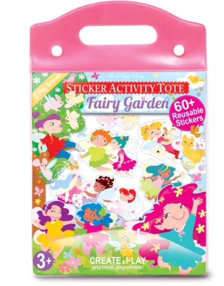 Fairy Garden Sticker Activity Book