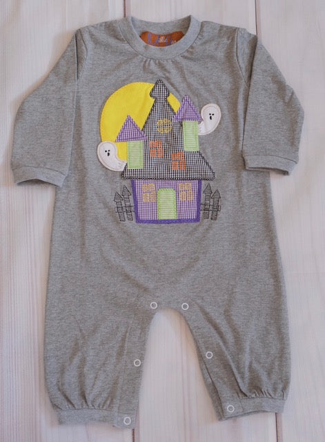 Haunted House Romper