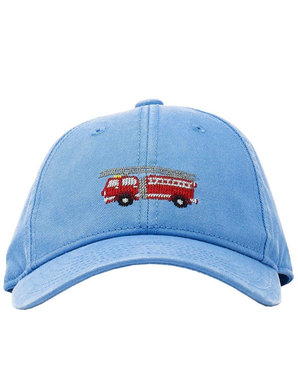 Needlepoint Hat - Firetruck