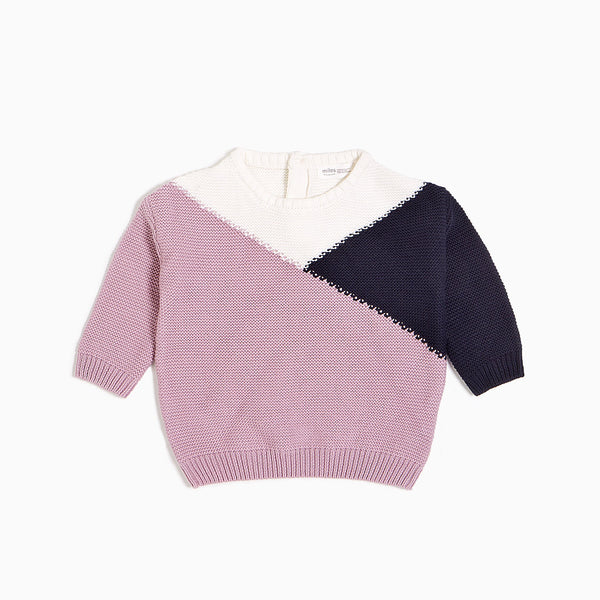 Snow Day Sweater- Purple