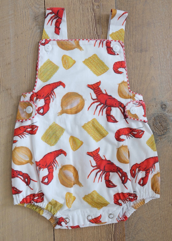 Crawfish Boil Bubble/ Sunsuit