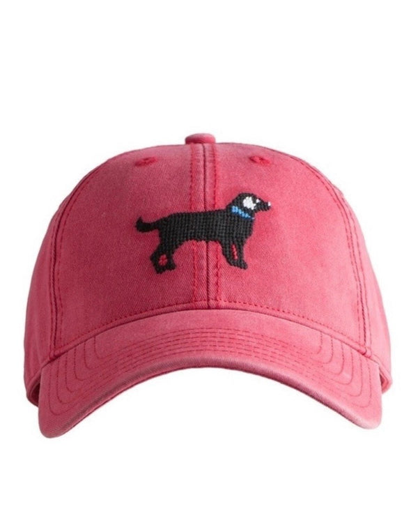 Needlepoint Hat - Black Lab