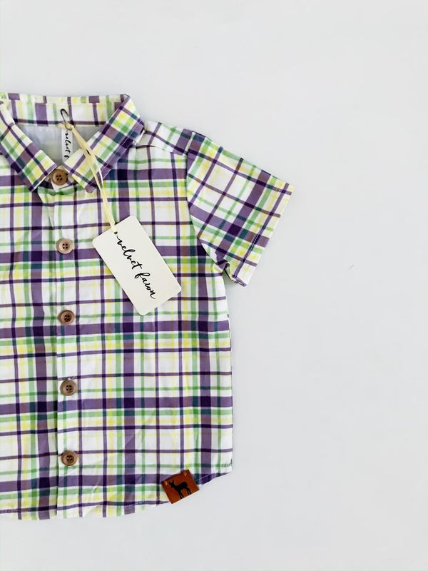 Nash Carnival Plaid Celebration Shirt