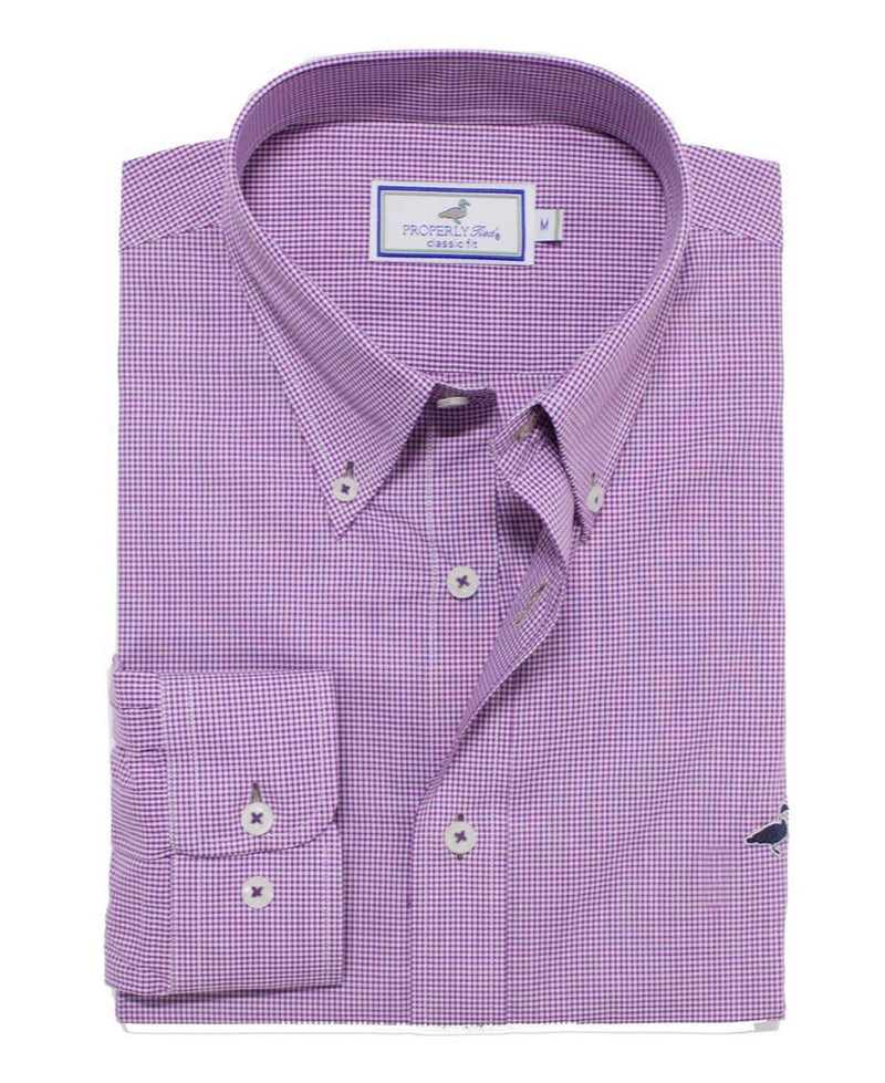 Purple Gameday Sportshirt