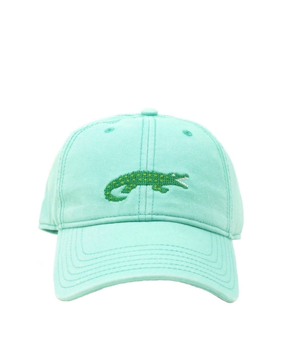 Needlepoint Hat - Alligator
