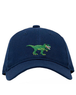 Needlepoint Hat - Dinosaur