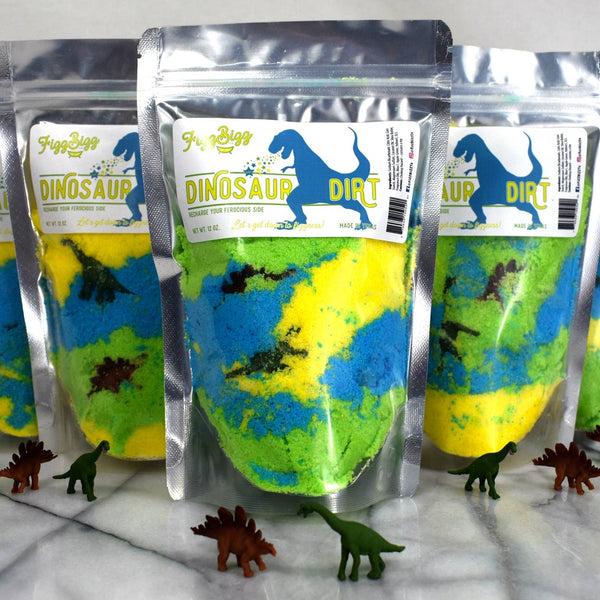Dinosaur Dirt Bath Bomb Powder