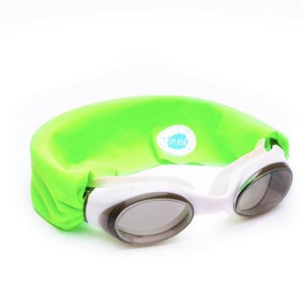 Neon Green Swim Goggles