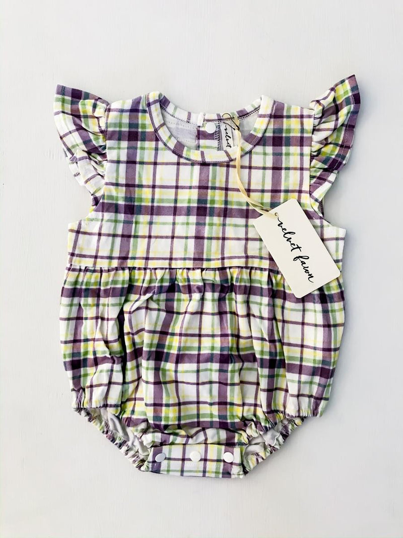 Harlowe Carnival Plaid Bubble