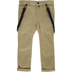 Woven Pants w/ removable suspenders