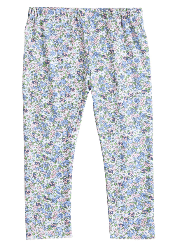 Kensington Floral Blue Leggings
