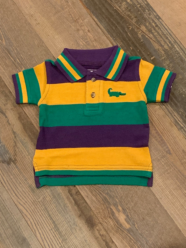 Mardi Gras Rugby Polo