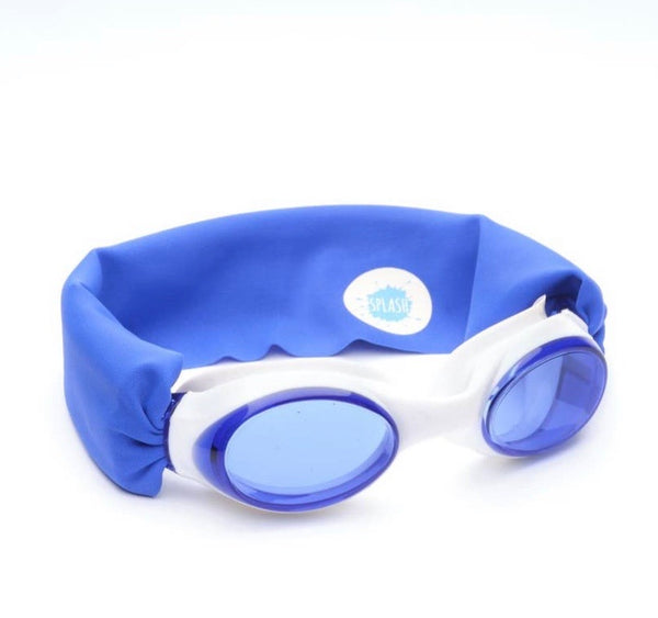 Blue Swim Goggles