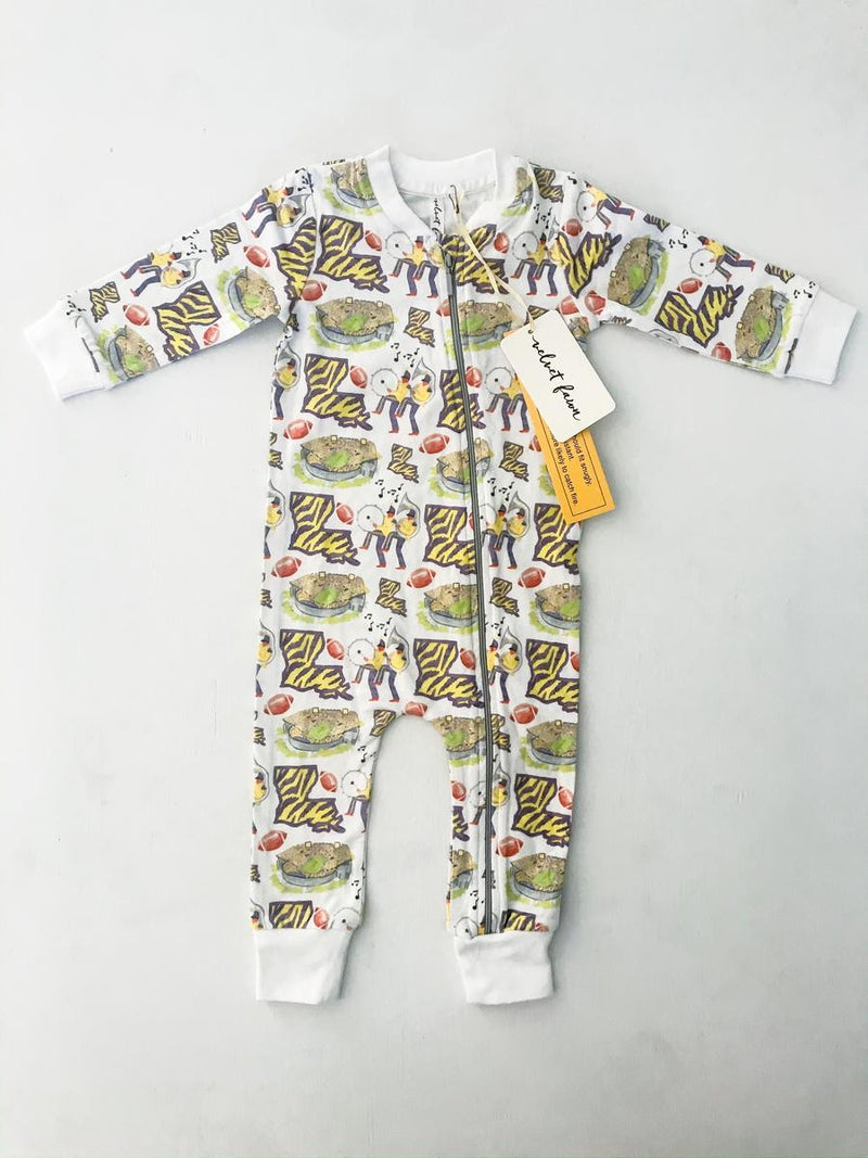 Tigerland Zipper Onesie