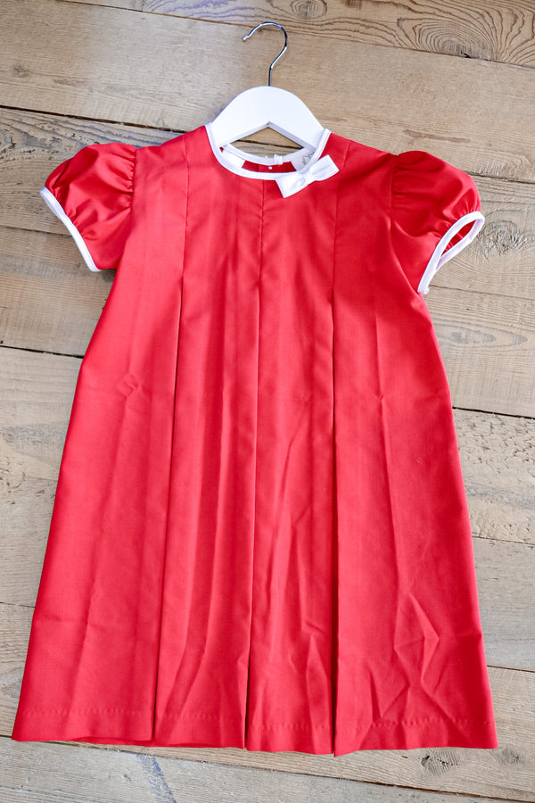 Red Oxford Dress