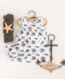 I'm Not Crabby Dress Set