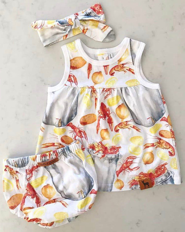 Bayou Baby Dress Set