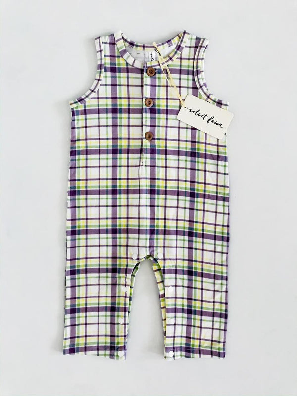 Cruz Carnival Plaid Button Front Jumper