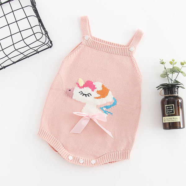 Unicorn Sweater Romper