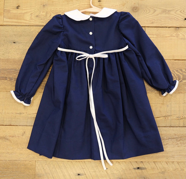 Navy Oxford Dress