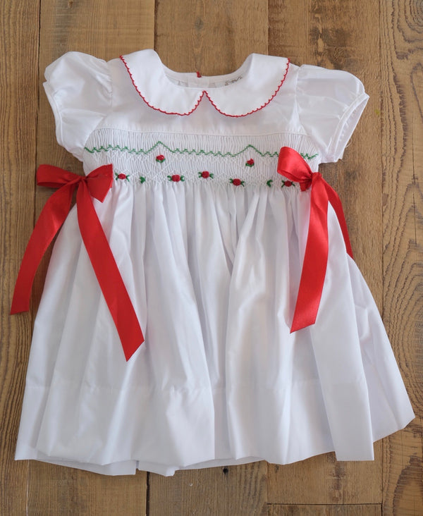 Rose Christmas Dress