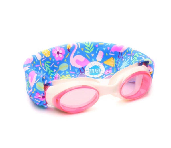Flamingo Pop Swim Goggles