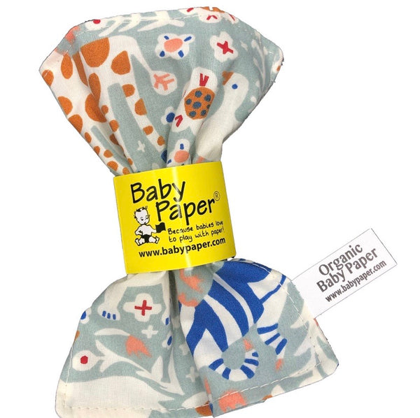 Baby Crinkle Paper- Menagerie