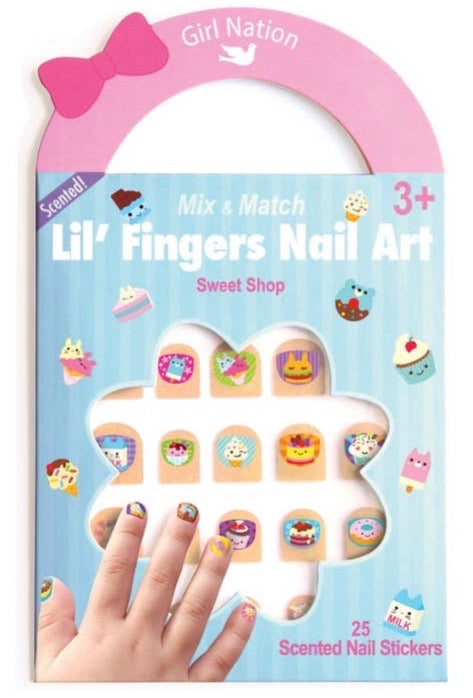 Lil Fingers Nail Art- Sweet Shop