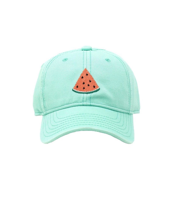 Needlepoint Hat - Watermelon