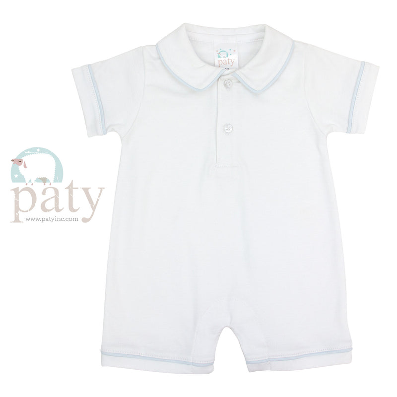 Peter Pan Collar Shortall