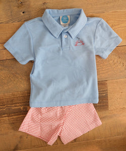 Stitch Crab Short Set