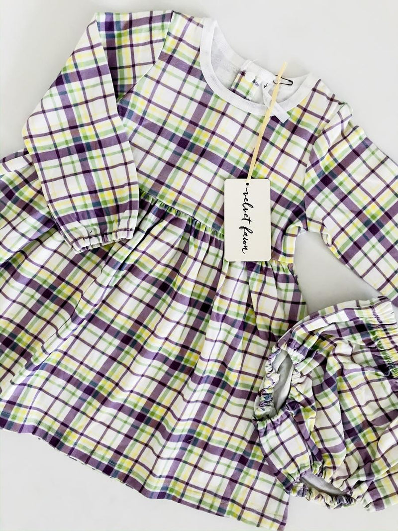 Emma Carnival Plaid Dress Set