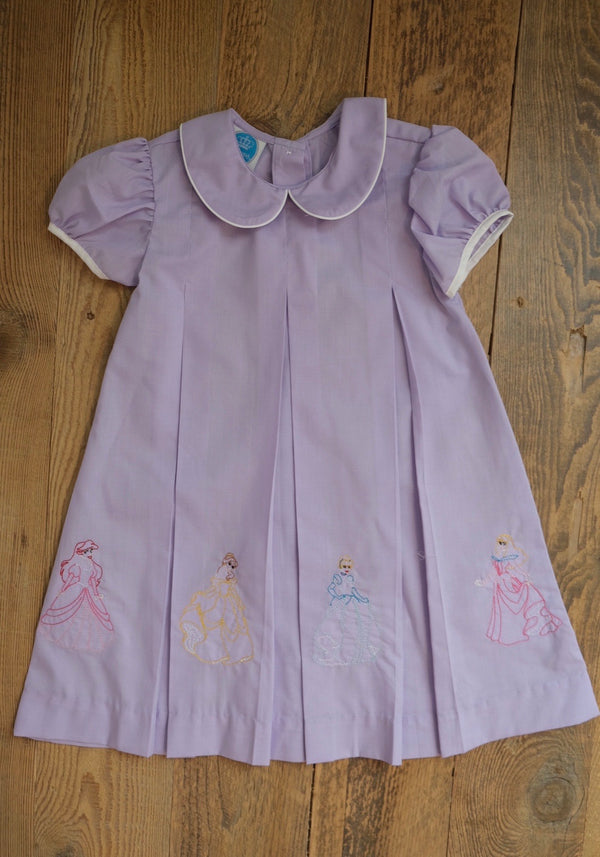 Princess Embroidered Dress