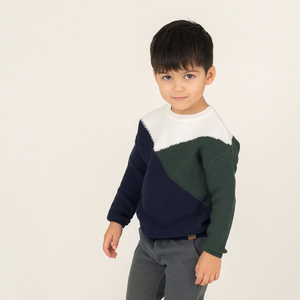 Snow Day Sweater- Green