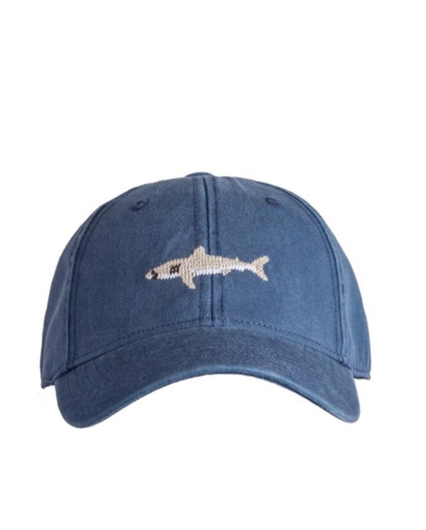 Needlepoint Hat - Great White Shark