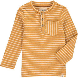 Gold Stripe Henley