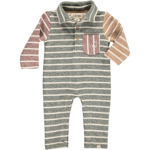 Multi Polo Romper