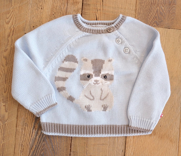 Raccoon Sweater