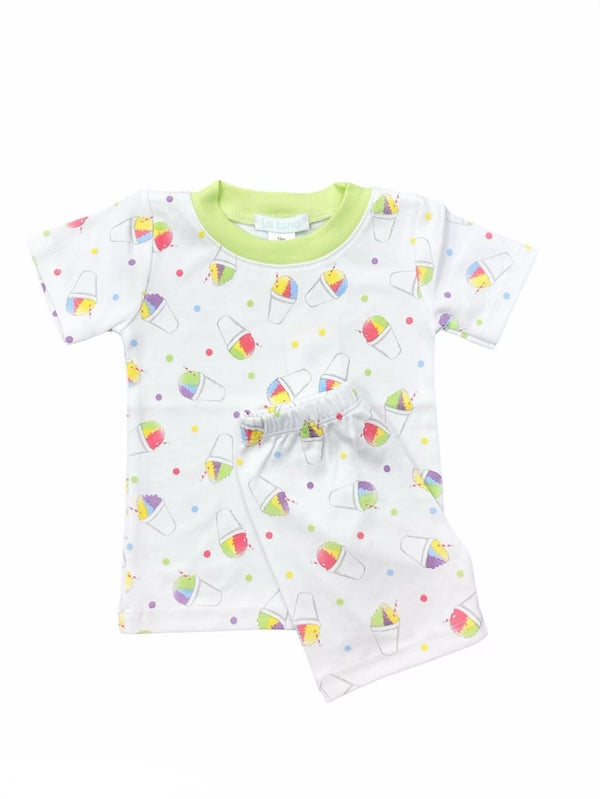 Snow cone Two-piece pajama set