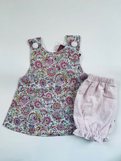 Unicorn Paisley Bloomer Set