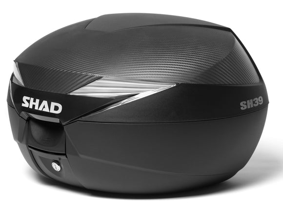 SHAD SH39 Top Box inc Carbon Cover
