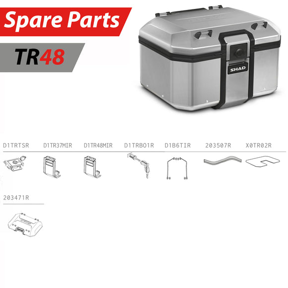 SHAD TR48 Top Box Spare Parts